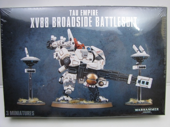 Warhammer 40.000 Tau Empire XV88 Broadside Battlesuit